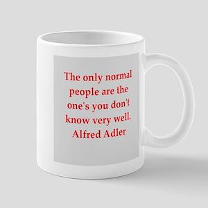 Alfred Adler quotes Mug