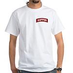 Sapper White T-Shirt