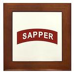 Sapper Framed Tile