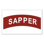 Sapper Sticker (Rectangle)
