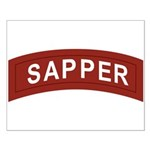 Sapper Small Poster