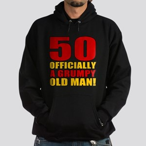 Grumpy 50th Birthday Hoodie (dark)