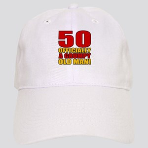 Grumpy 50th Birthday Cap