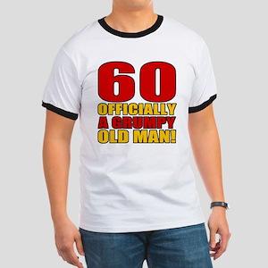 Grumpy 60th Birthday Ringer T