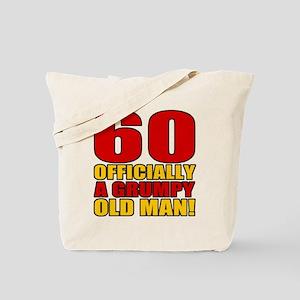 Grumpy 60th Birthday Tote Bag