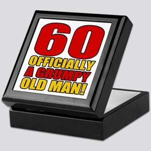 Grumpy 60th Birthday Keepsake Box