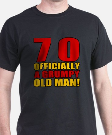 Grumpy 70th Birthday T-Shirt