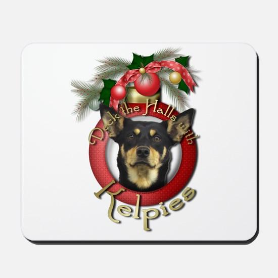 Christmas - Deck the Halls - Kelpies Mousepad