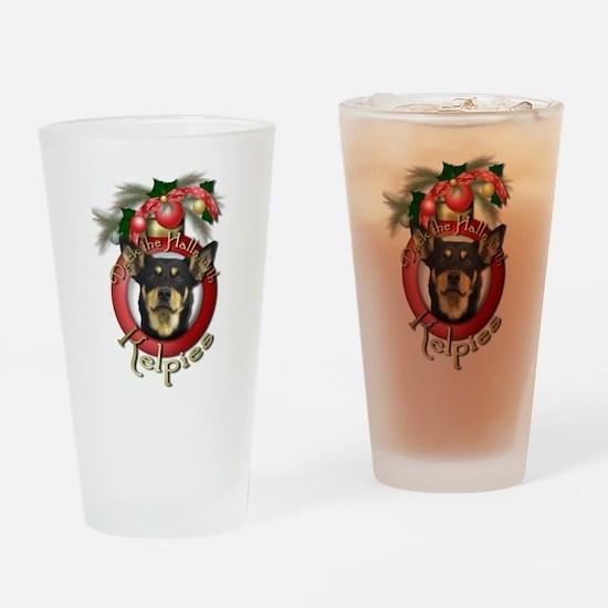 Christmas - Deck the Halls - Kelpies Drinking Glas