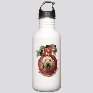 Christmas - Deck the Halls - GoldenDoodles Stainle