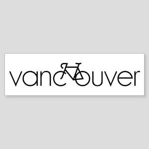 Bike Vancouver Sticker (Bumper)
