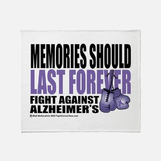 Memories Last Forever Throw Blanket