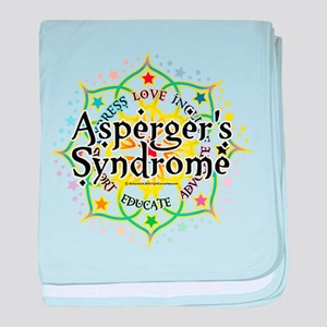 Asperger's Syndrome Lotus baby blanket