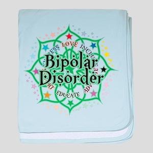 Bipolar Disorder Lotus baby blanket