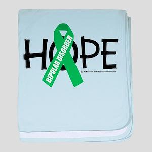 Bipolar Disorder Hope baby blanket