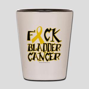Fuck Bladder Cancer Shot Glass