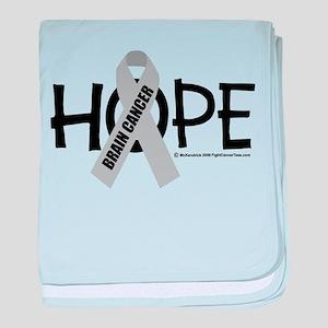 Brain Cancer Hope baby blanket