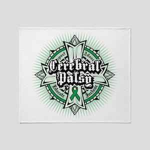 CP: Celtic Cross Throw Blanket