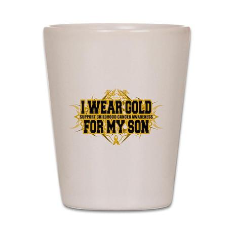 Gold For Son Tribal Shot Glass