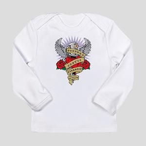 CF Dagger Tattoo Long Sleeve Infant T-Shirt