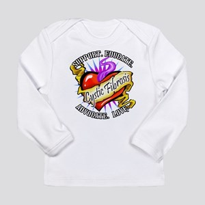 CF Heart Tattoo Long Sleeve Infant T-Shirt