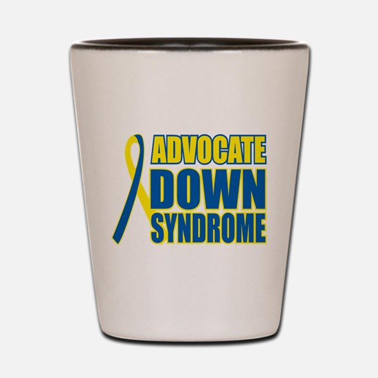 Advocate Down Syndrome Shot Glass