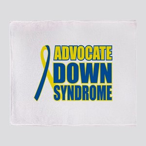 Advocate Down Syndrome Throw Blanket
