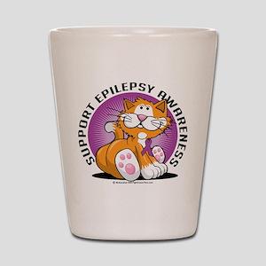 Epilepsy Cat Shot Glass