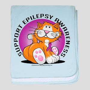 Epilepsy Cat baby blanket