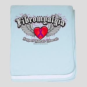 Fibromyalgia Wings baby blanket