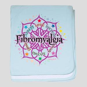 Fibromyalgia Lotus baby blanket