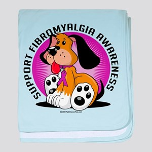 Fibromyalgia Dog baby blanket
