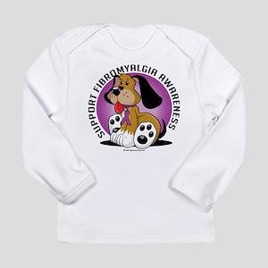Fibromyalgia Dog Long Sleeve Infant T-Shirt