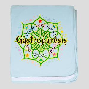 Gastroparesis Lotus baby blanket