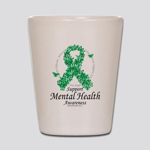 Mental Health Ribbon of Butte Shot Glass