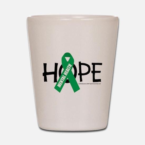 Mental Health Hope Shot Glass