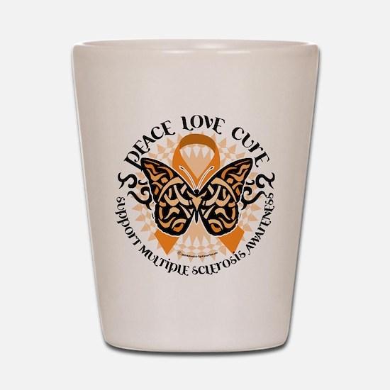 MS Tribal Butterfly Shot Glass