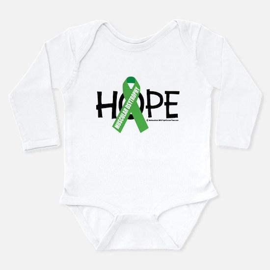 Muscular Dystrophy Hope Long Sleeve Infant Bodysui