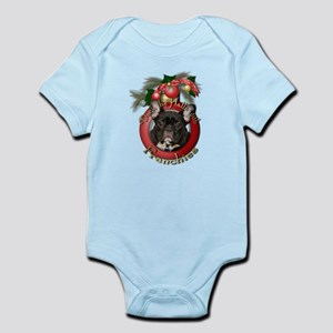Christmas - Deck the Halls - Frenchies Infant Body