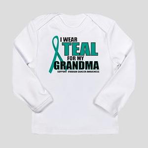 OC: Teal For Grandma Long Sleeve Infant T-Shirt
