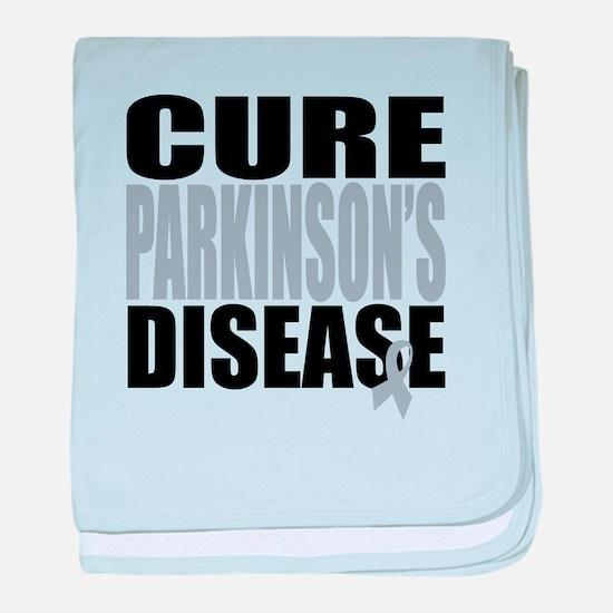 Cure Parkinson's Disease baby blanket
