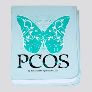 PCOS Butterfly baby blanket