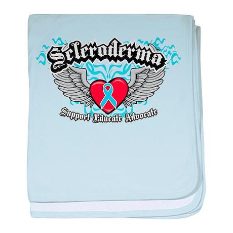 Scleroderma Wings baby blanket