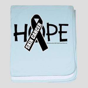 Skin Cancer Hope baby blanket