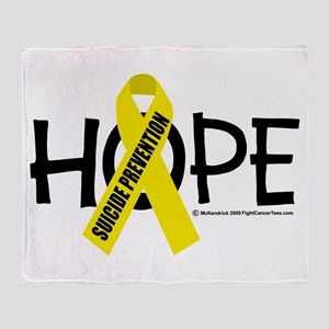 Suicide Prevention Hope Throw Blanket