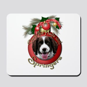 Christmas - Deck the Halls - Springers Mousepad
