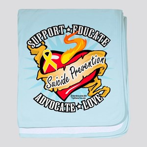 Suicide Prevention Classic He baby blanket