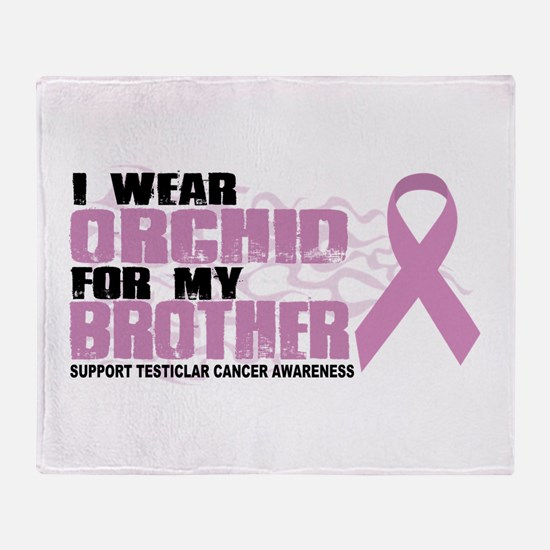 Epilepsy Purple For Brother Throw Blanket