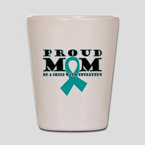 Tourette's Proud Mom Shot Glass