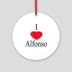 Alfonso Ornament (Round)